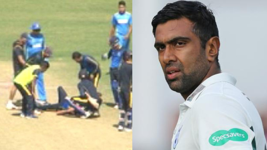 R Ashwin and Jaydev Unadkat calls for face masks for bowlers after Ashok Dinda's injury