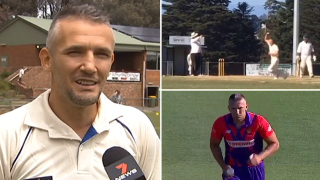 WATCH- Romanian cricketer Pavel Florin shares video of his very first wicket in Australia