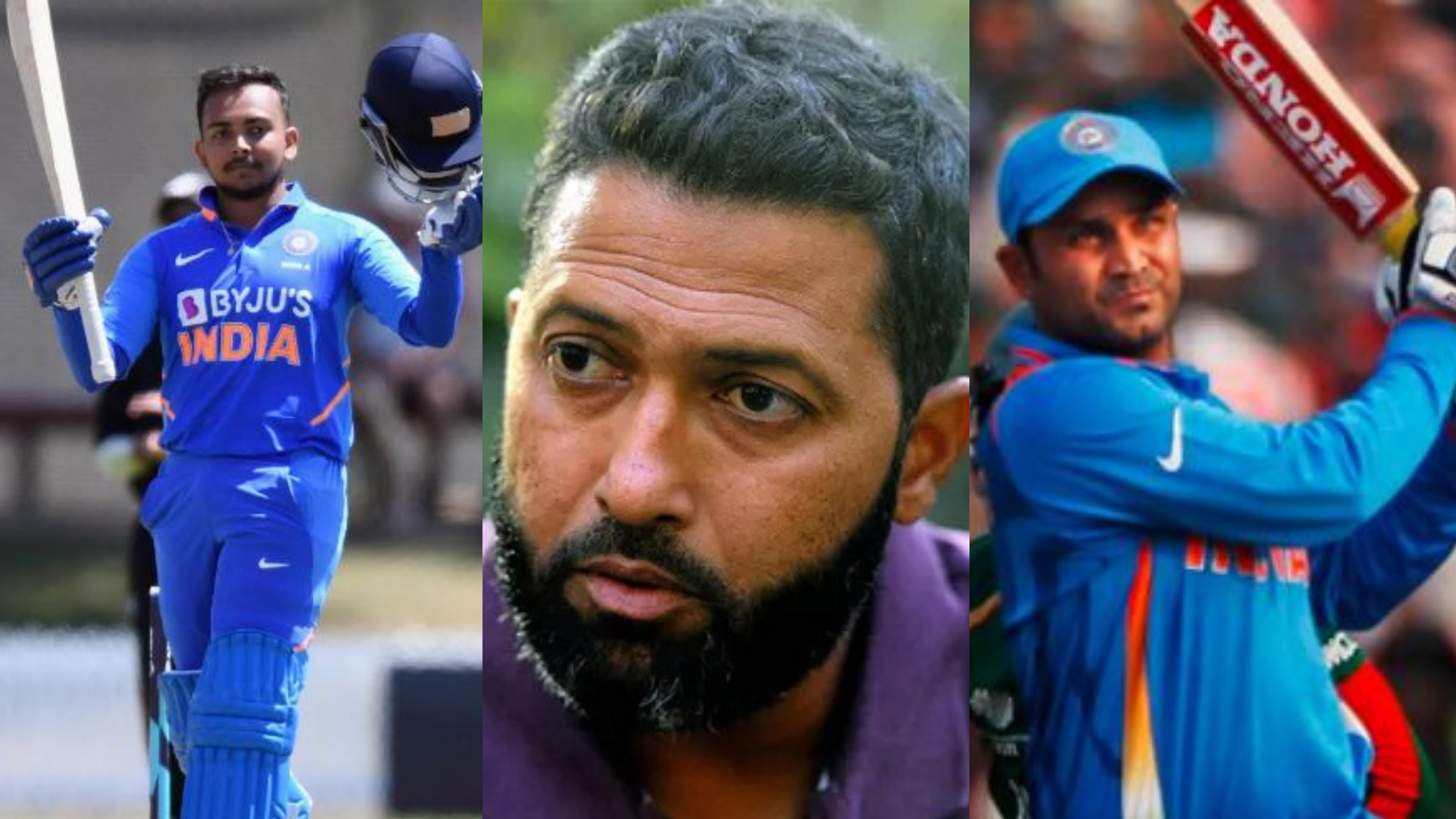 Prithvi Shaw has ability of Virender Sehwag but needs more discipline, says Wasim Jaffer