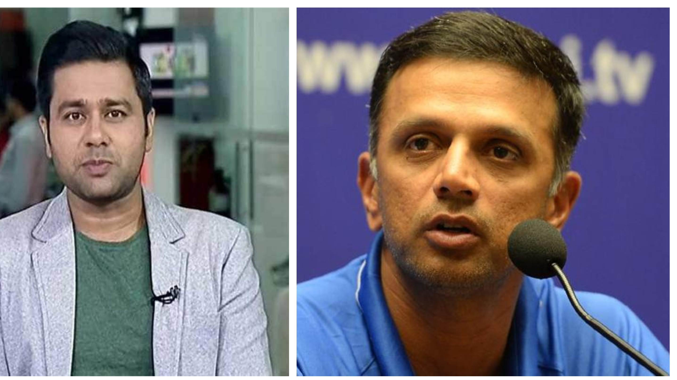 Aakash Chopra touched by another noble gesture from India A head coach Rahul Dravid
