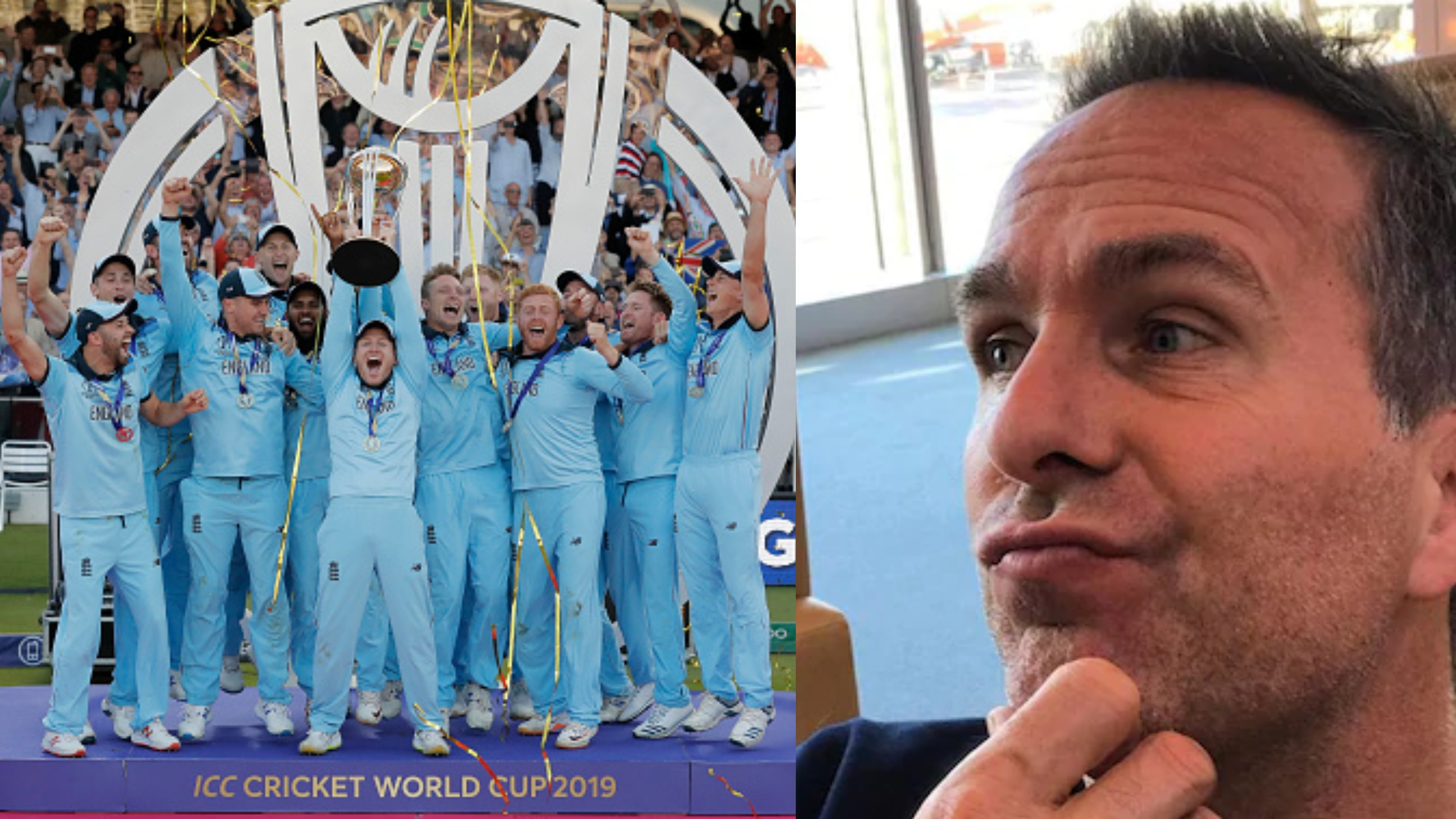 Michael Vaughan's hilarious response to ICC's most iconic photo of all time