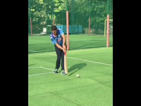 Aakash Chopra tries his hands at the helicopter shot | Twitter
