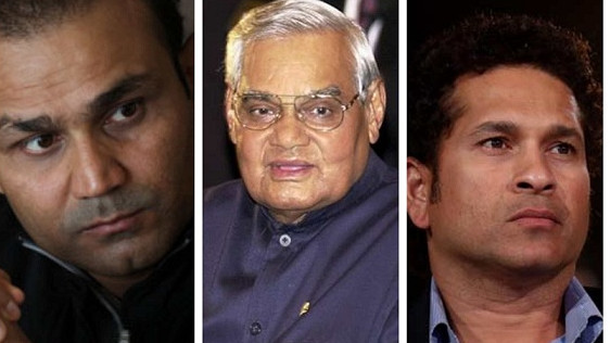 Indian cricket fraternity mourns the demise of Bharat Ratna, Atal Bihari Vajpayee