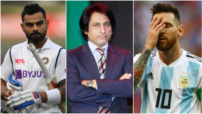 Ramiz Raja compares Kohli's ICC trophy drought with Messi ahead of WTC final