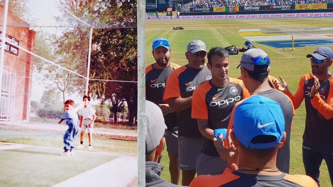 Siddarth Kaul showed his meme game after receiving India cap from MS Dhoni | Twitter
