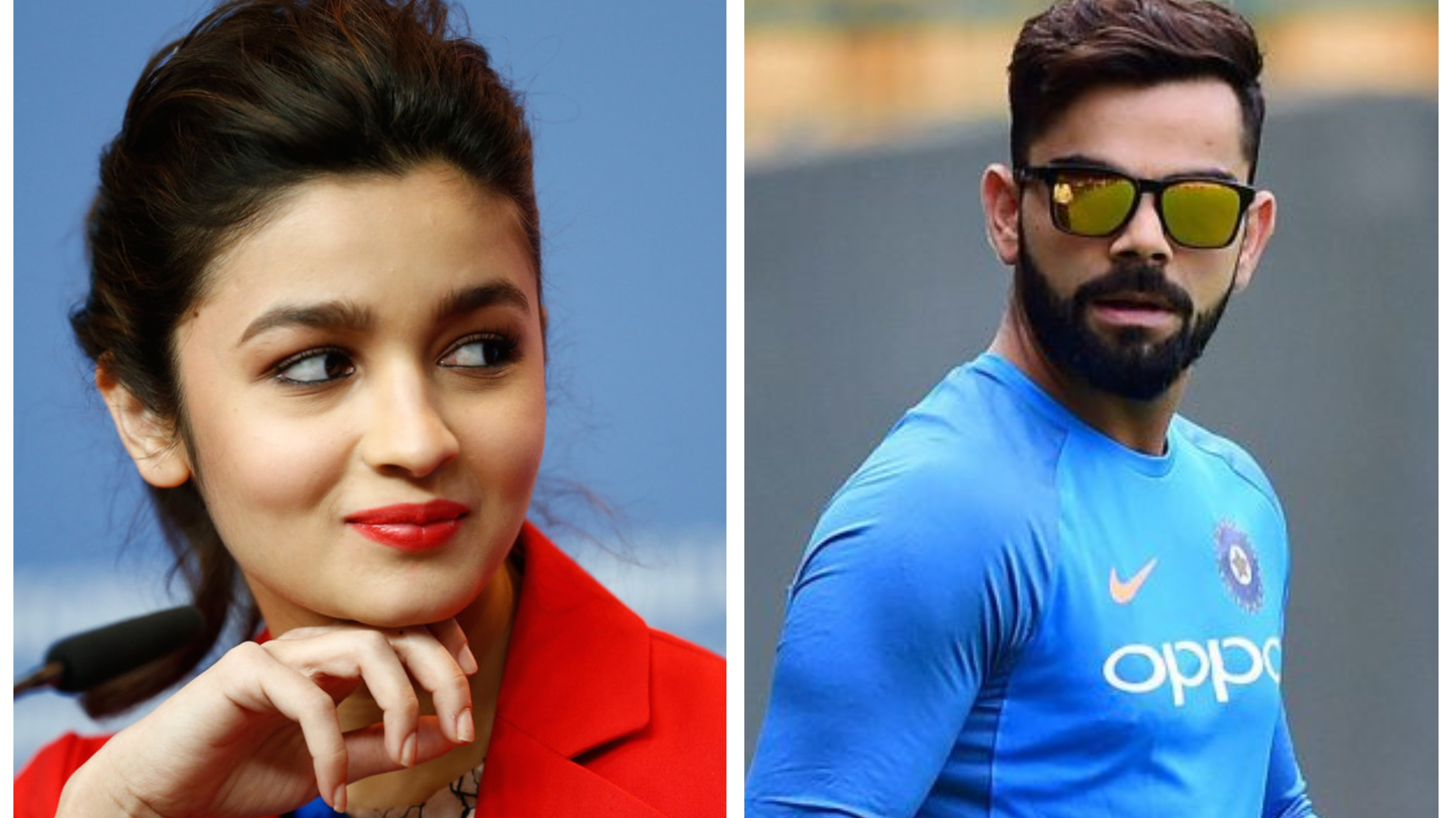 Bollywood actress Alia Bhatt in awe of Virat Kohli's on-field exploits