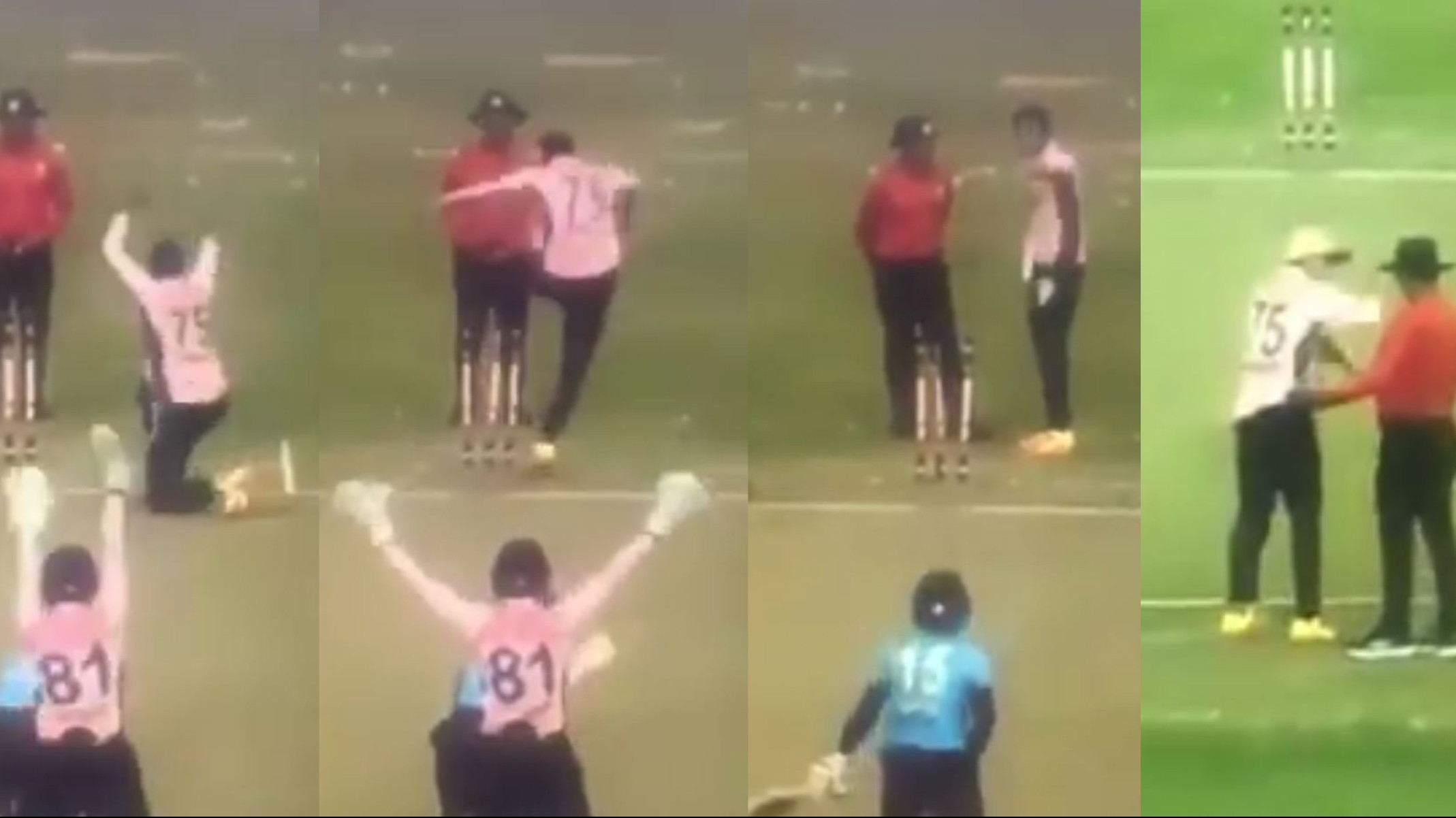 WATCH- Shakib Al Hasan argues with umpires, kicks and unearths stumps in two separate tantrums