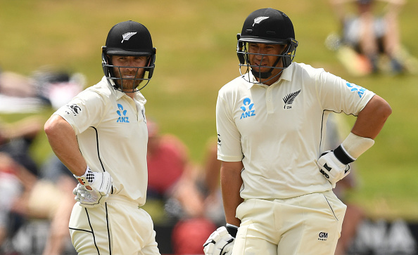Williamson and Taylor helped the Kiwis secure a draw in Hamilton | Getty