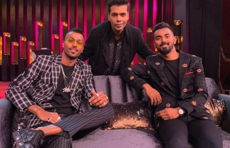 Pandya and Rahul's Koffee with Karan episode reportedly deleted