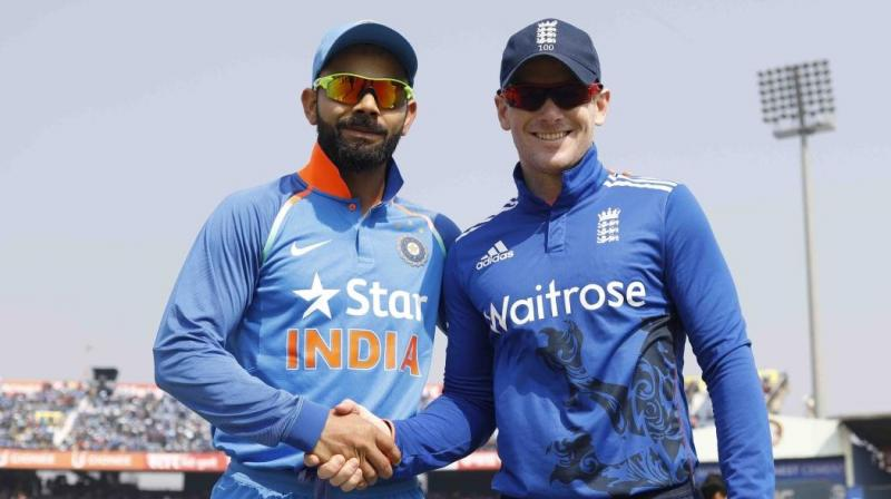 Kohli and Morgan  | AFP