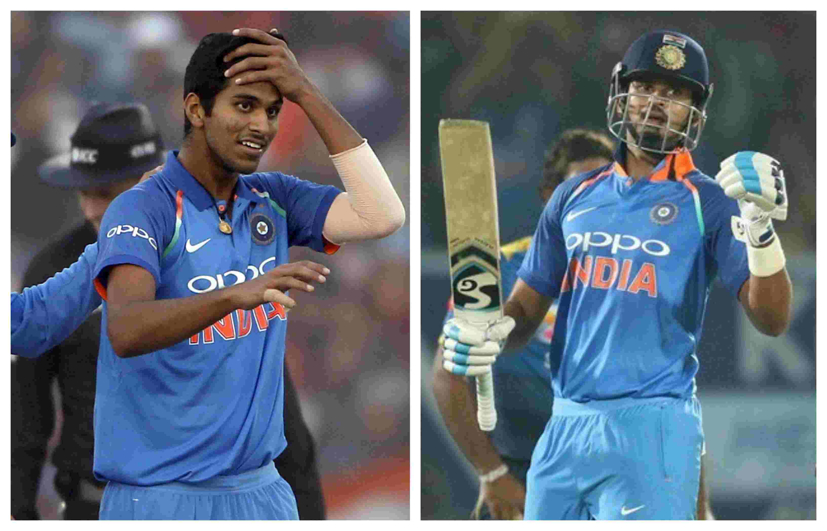 Iyer and Sundar may get a go in the third T20I