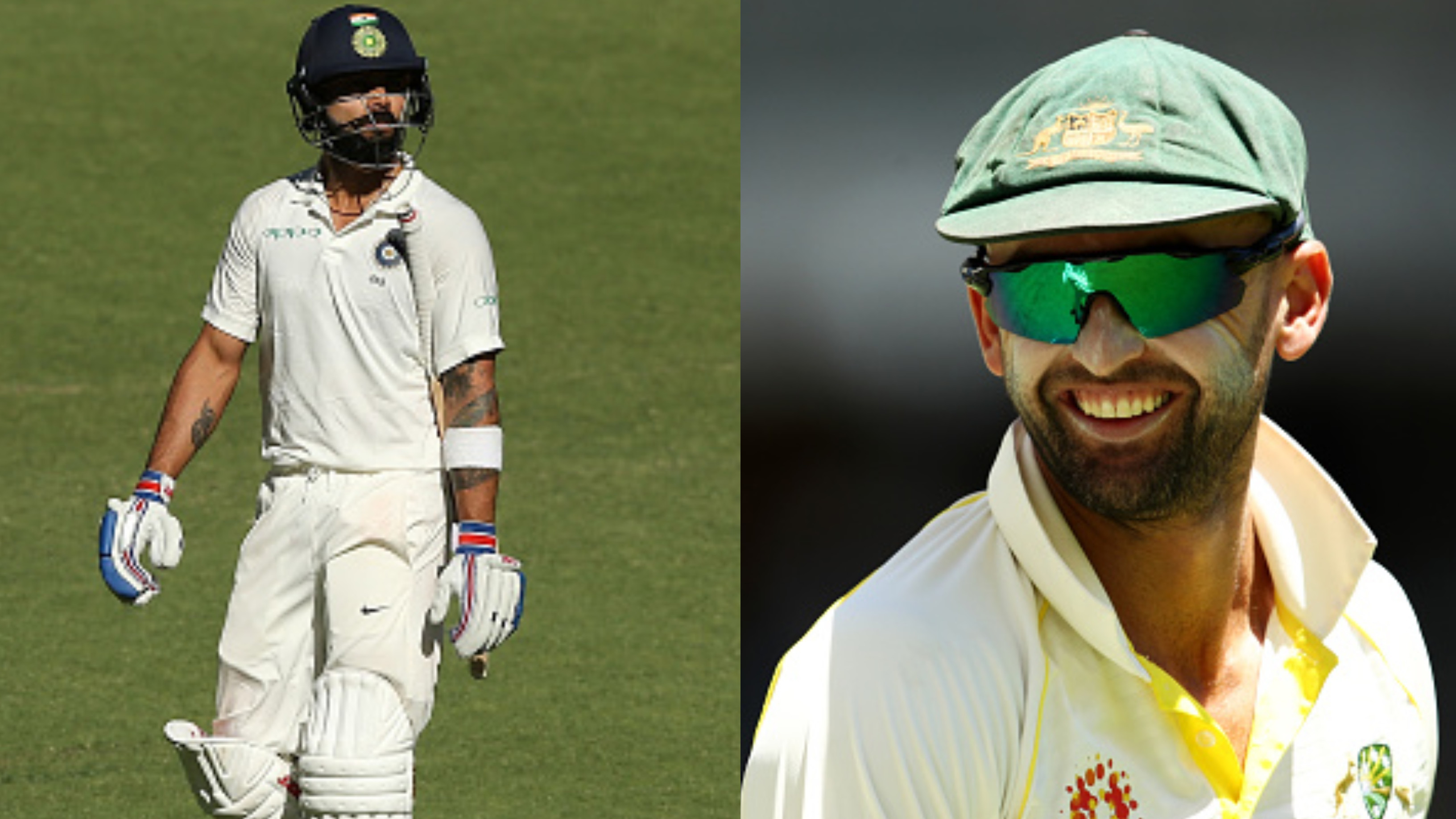 AUS v IND 2018-19: It's pretty special to get Virat Kohli's wicket, admits Nathan Lyon