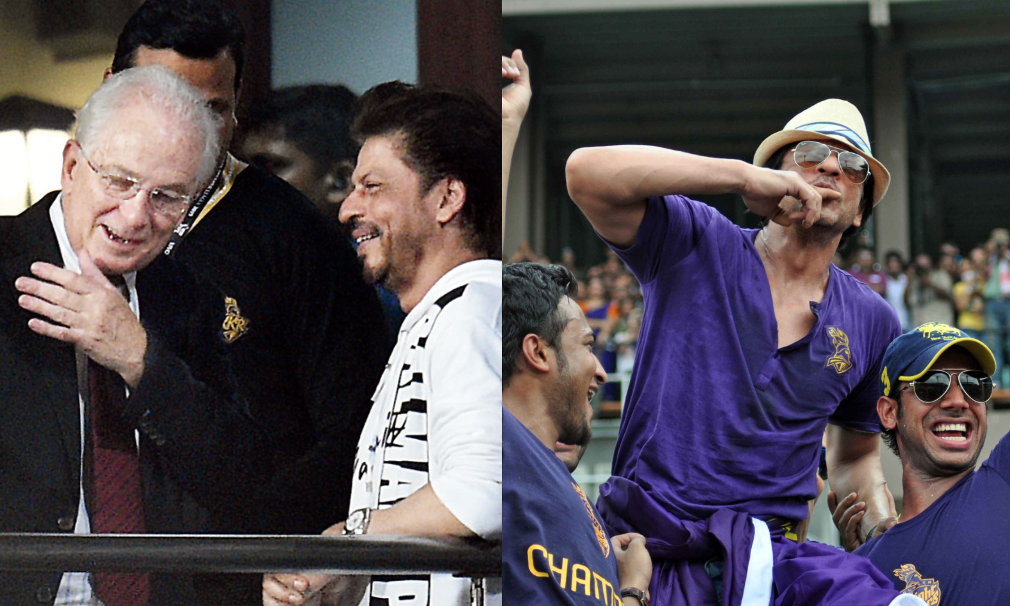 David Gower hails Shah Rukh Khan for passion about Cricket   Twitter