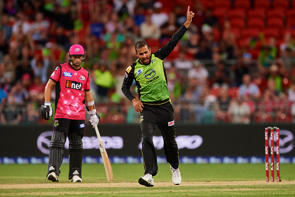 Fawad impresses everyone with is brilliant spell against Sydney Sixers | Getty Images