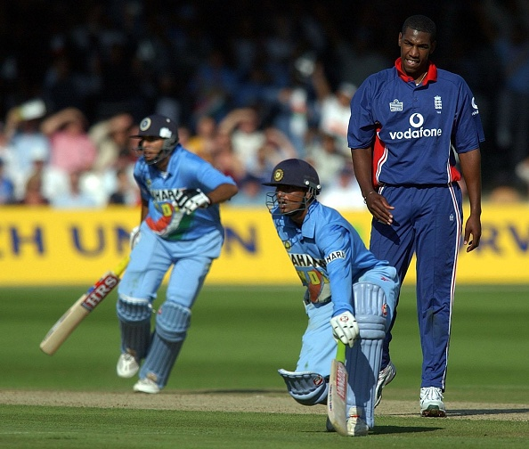 Kaif and Yuvraj had shared 121-run stand for the sixth wicket in the 2002 Natwest Series final | Getty