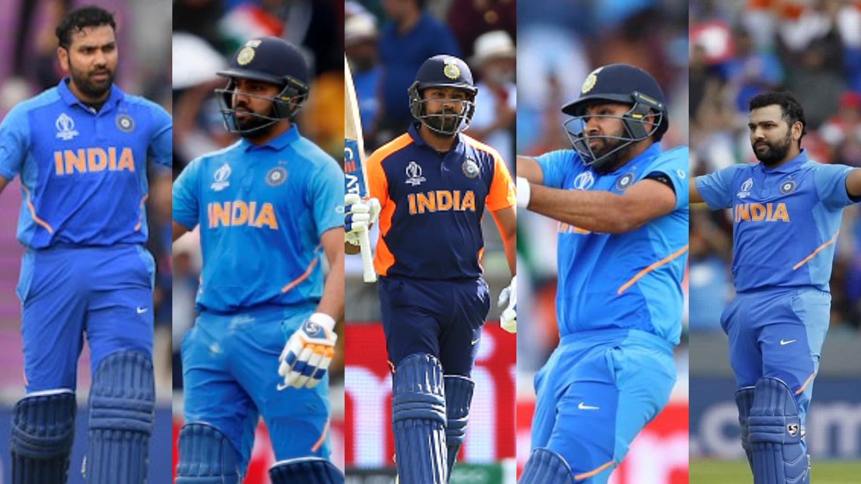 On This Day: Rohit Sharma hits record 5 centuries in a single World Cup; relive all of them