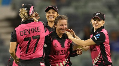 Women's T20WC 2020: Sophie Devine's 75* leads New Zealand to 7-wicket win over Sri Lanka