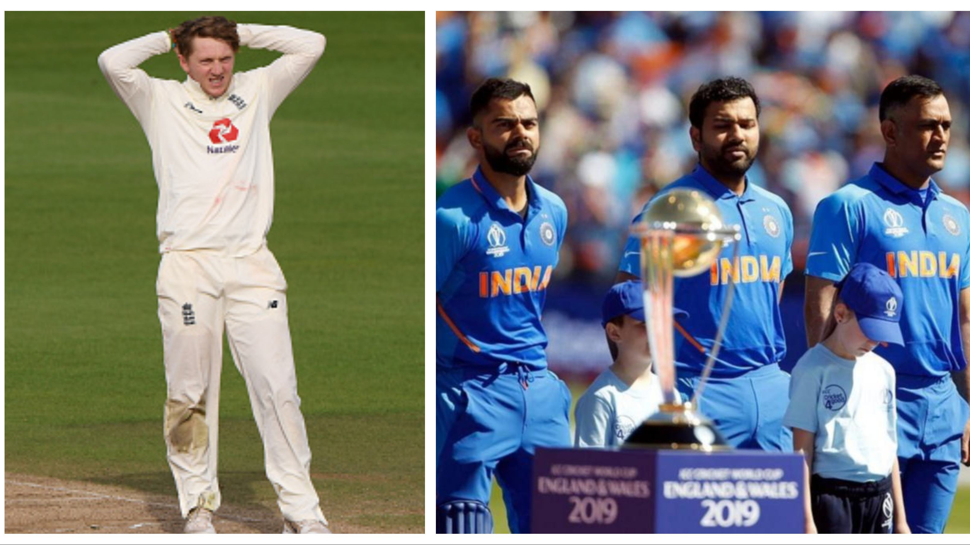 Dom Bess under scanner as his old posts mocking India's national anthem and MS Dhoni resurface