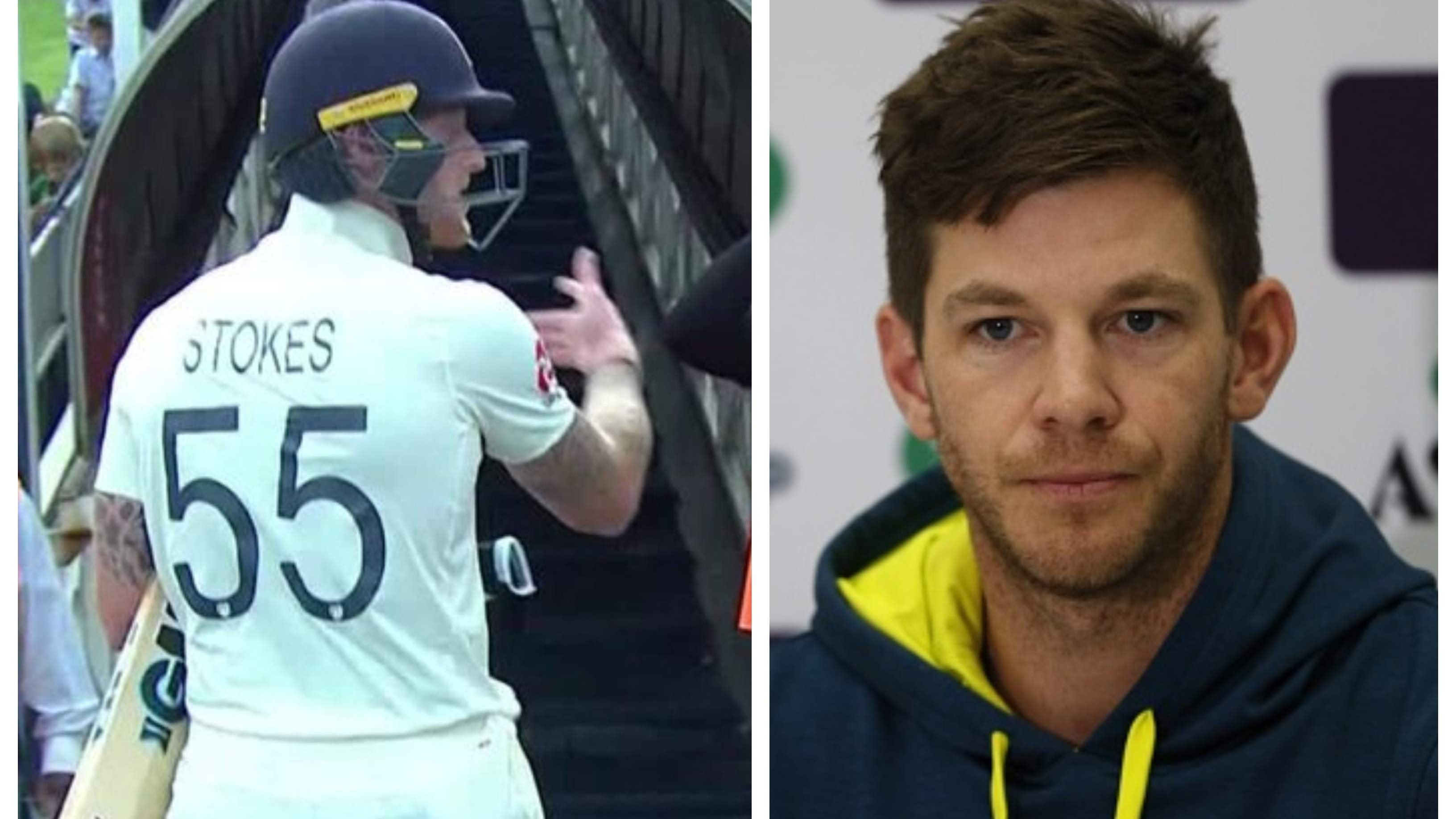 Tim Paine blasts Ben Stokes for his unprofessional behaviour towards crowd in Johannesburg