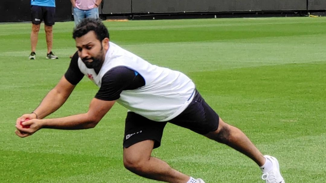 AUS v IND 2020-21: Rohit Sharma trains with batting coach, while his teammates enjoy 2-day off