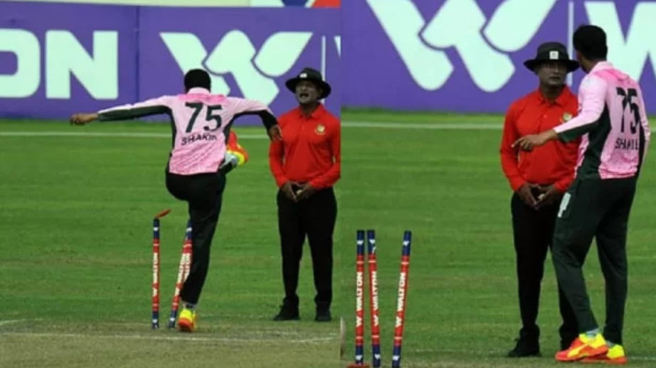 Shakib Al Hasan set to face a four-match ban for his unruly on-field behaviour