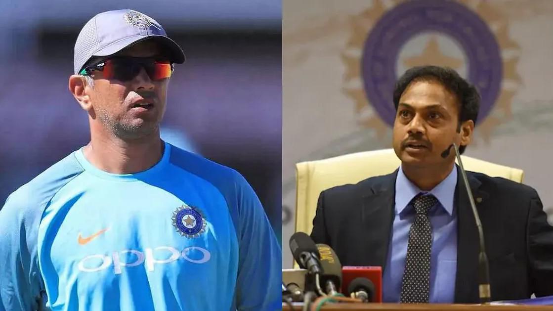 Rahul Dravid best candidate to coach Team India- MSK Prasad