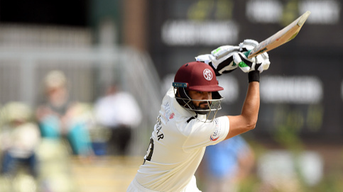 Azhar Ali marks his Somerset debut with a ton