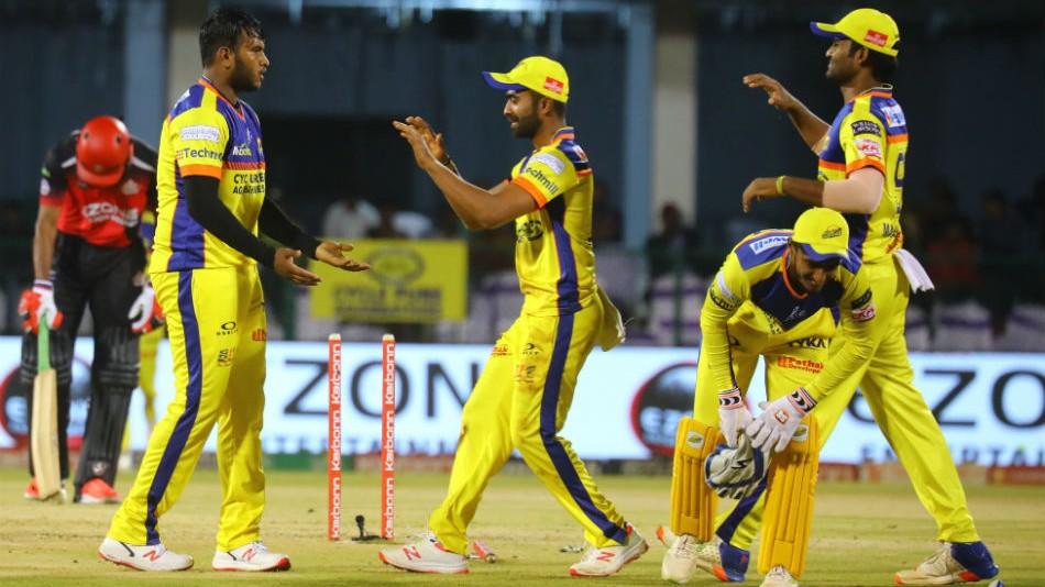 KPL 2019: All-round Mysuru Warriors outclass Hubli Tigers by 9 wickets