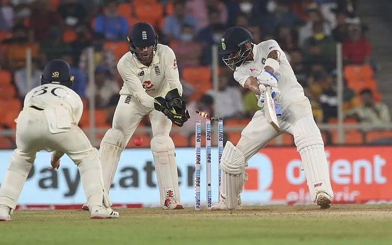 Virat Kohli gets clean bowled | BCCI