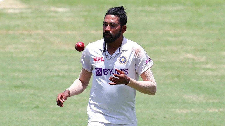 Mohammed Siraj took 5-wicket-haul in fourth Test-match at Gabba, Brisbane | Getty