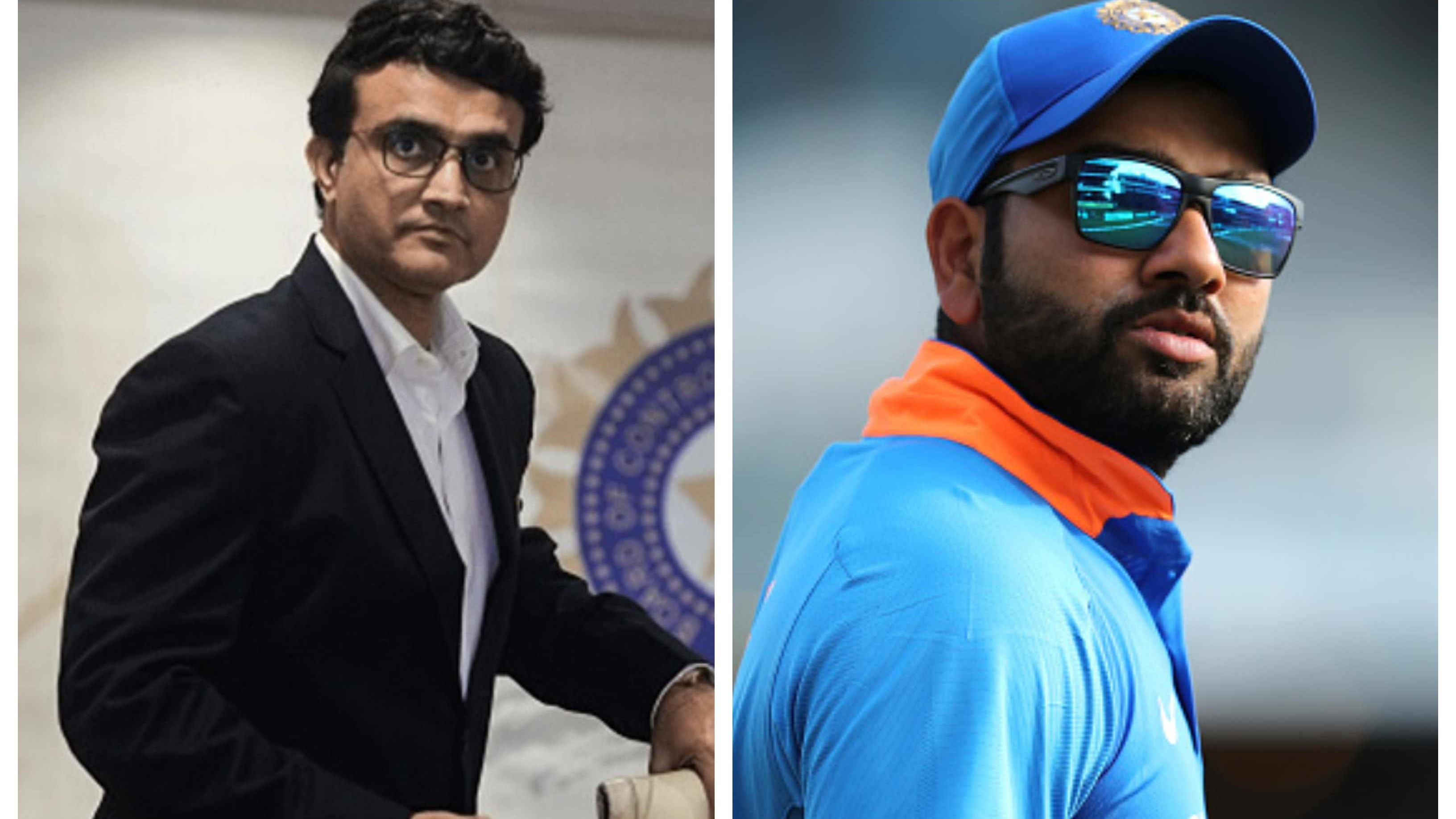 AUS v IND 2020-21: Ganguly clears air on Rohit's chances of making it to the Indian squad for Australia tour
