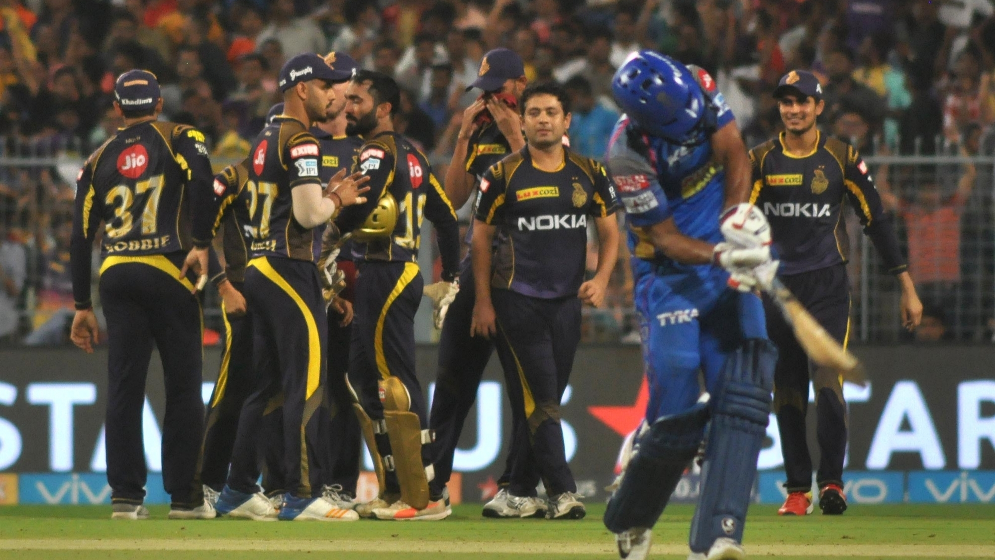 IPL 2018 : Eliminator, KKR vs RR - Statistical Highlights