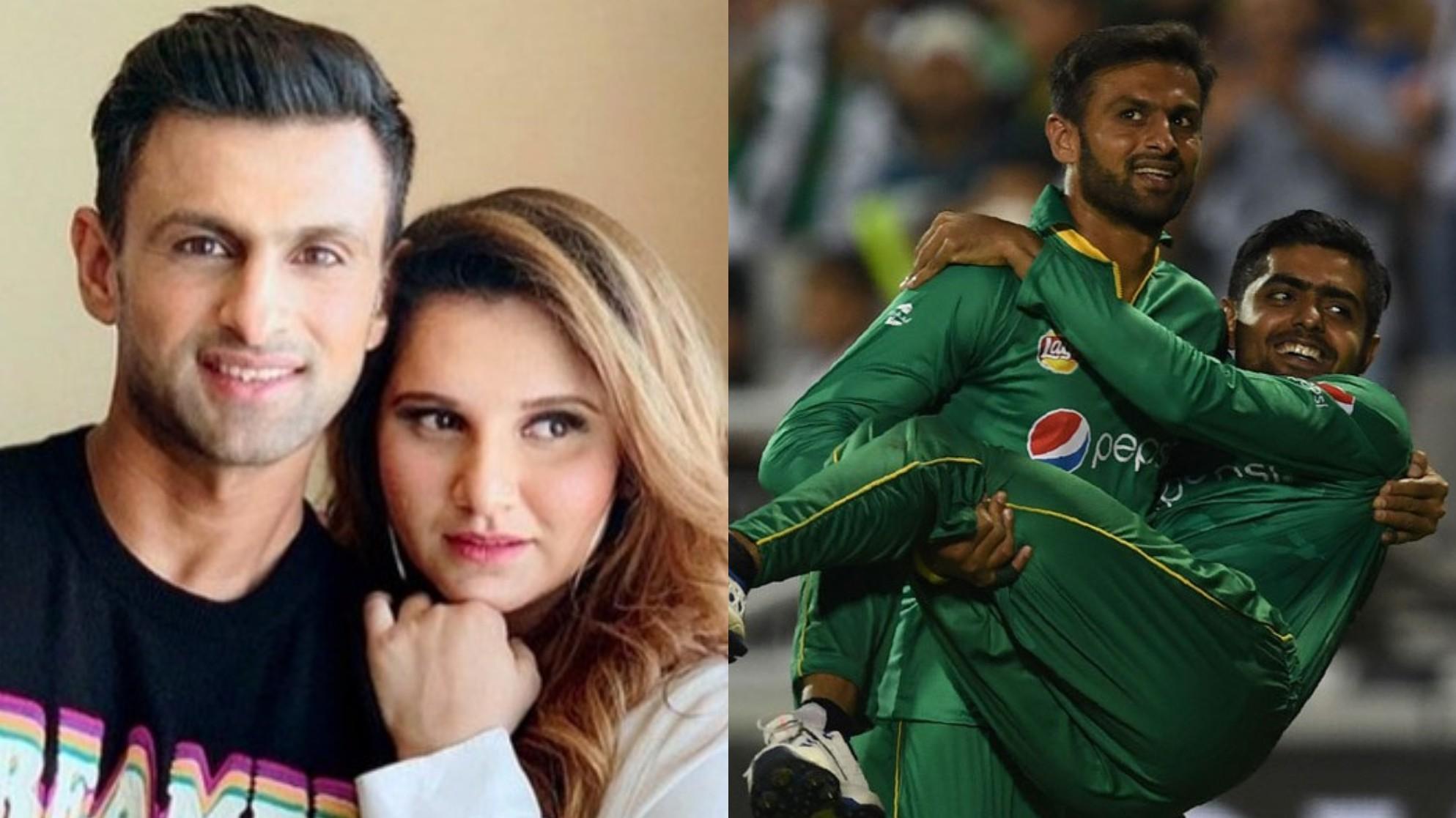 """Will kill you,"" Sania Mirza says to Babar Azam as he picks Sarfaraz Ahmed's wife as his favorite bhabhi"