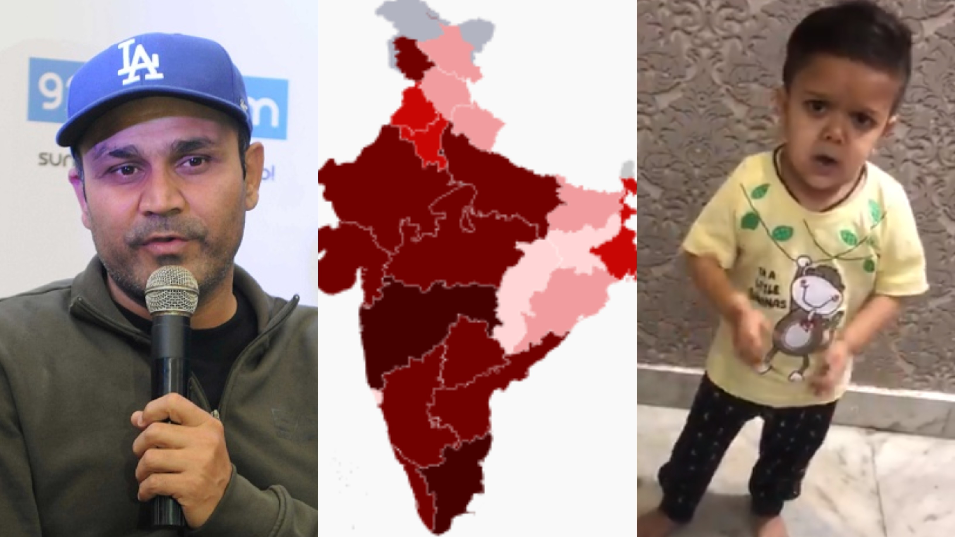WATCH - Virender Sehwag shares an important message by a child; urges people to listen and follow