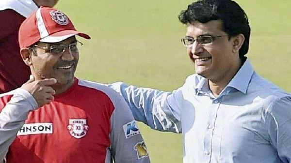 Virender Sehwag replies in his own style to Sourav Ganguly's birthday wish to him
