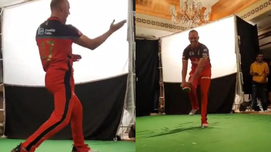 IPL 2019: WATCH- AB de Villiers' hilarious blunder during advert shoot leaves Virat Kohli in splits