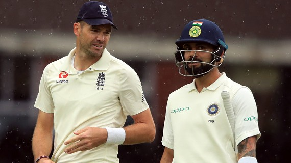 James Anderson points out the changes Virat Kohli made to succeed in England during 2018 tour