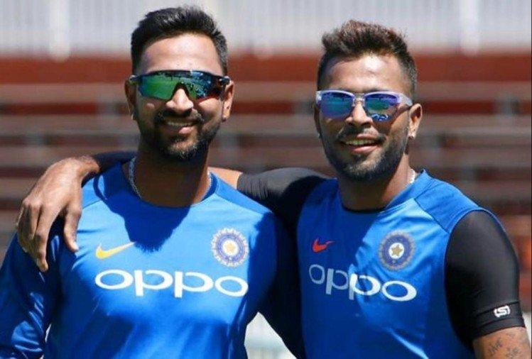 Hardik Pandya and Krunal Pandya | Twitter