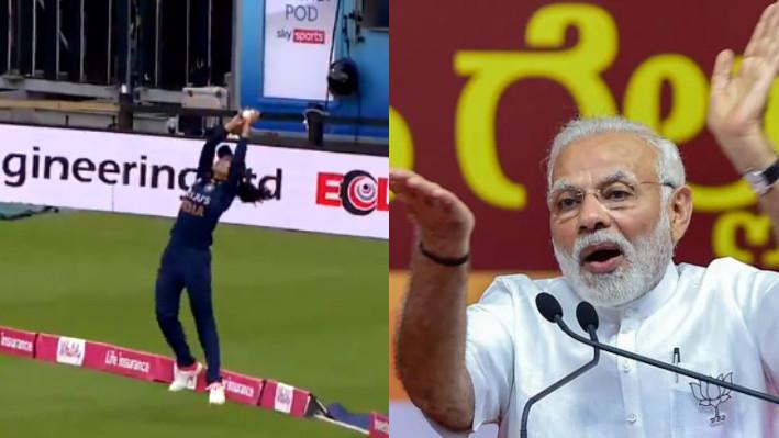 ENGW v INDW 2021: PM Narendra Modi appreciates Harleen Deol's stunning catch against England
