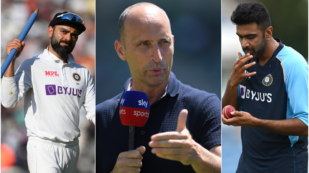 ENG v IND 2021: Nasser Hussain hails Kohli's captaincy; says he was right in excluding Ashwin from Oval Test
