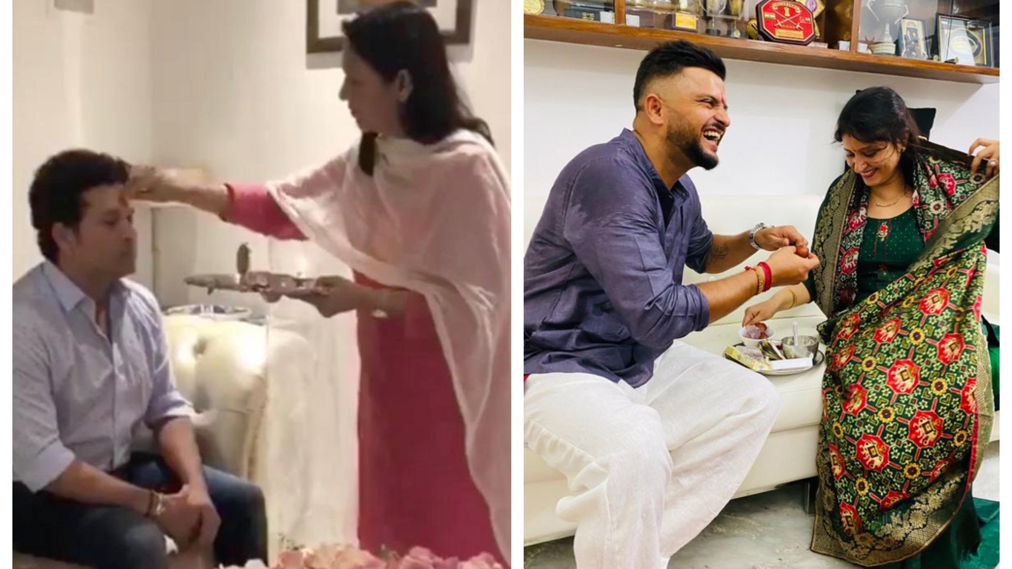 Indian cricketers share heartfelt messages for sisters on the occasion of Raksha Bandhan
