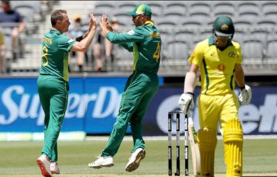 Australia suffered a massive defeat in the first ODI at Perth | AFP
