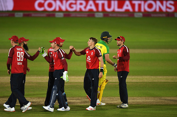 England snatched a thrilling 2-run win | Getty Images