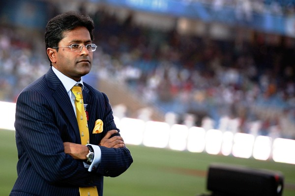 Lalit Modi was accused of rigging bids in auctions