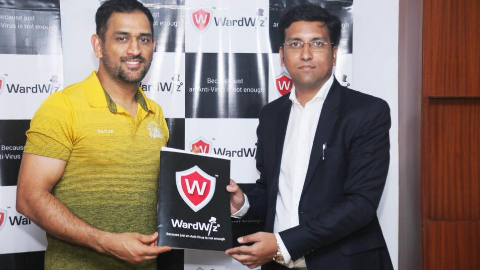 MS Dhoni signs a new deal worth INR 15 crores with German cybersecurity company WardWiz