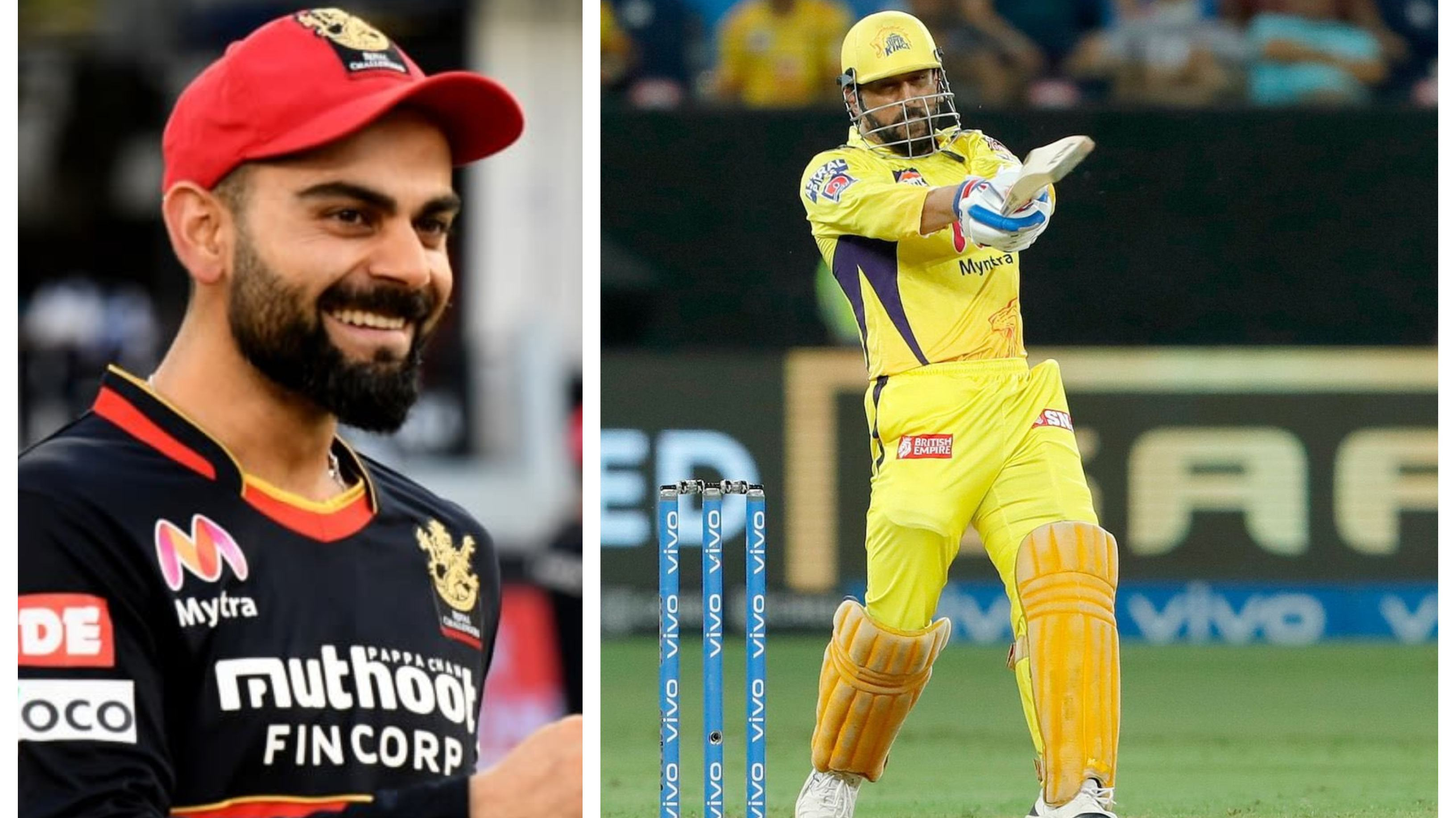 """IPL 2021: """"Made me jump Outta my seat"""", Virat Kohli hails MS Dhoni as greatest finisher ever"""
