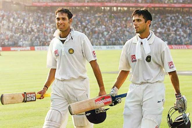 Laxman calls Rahul Dravid as his batting partner to bat for his life | AFP