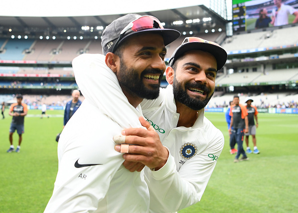 Rahane will captain India in Kohli's absence for the last three Tests | Getty