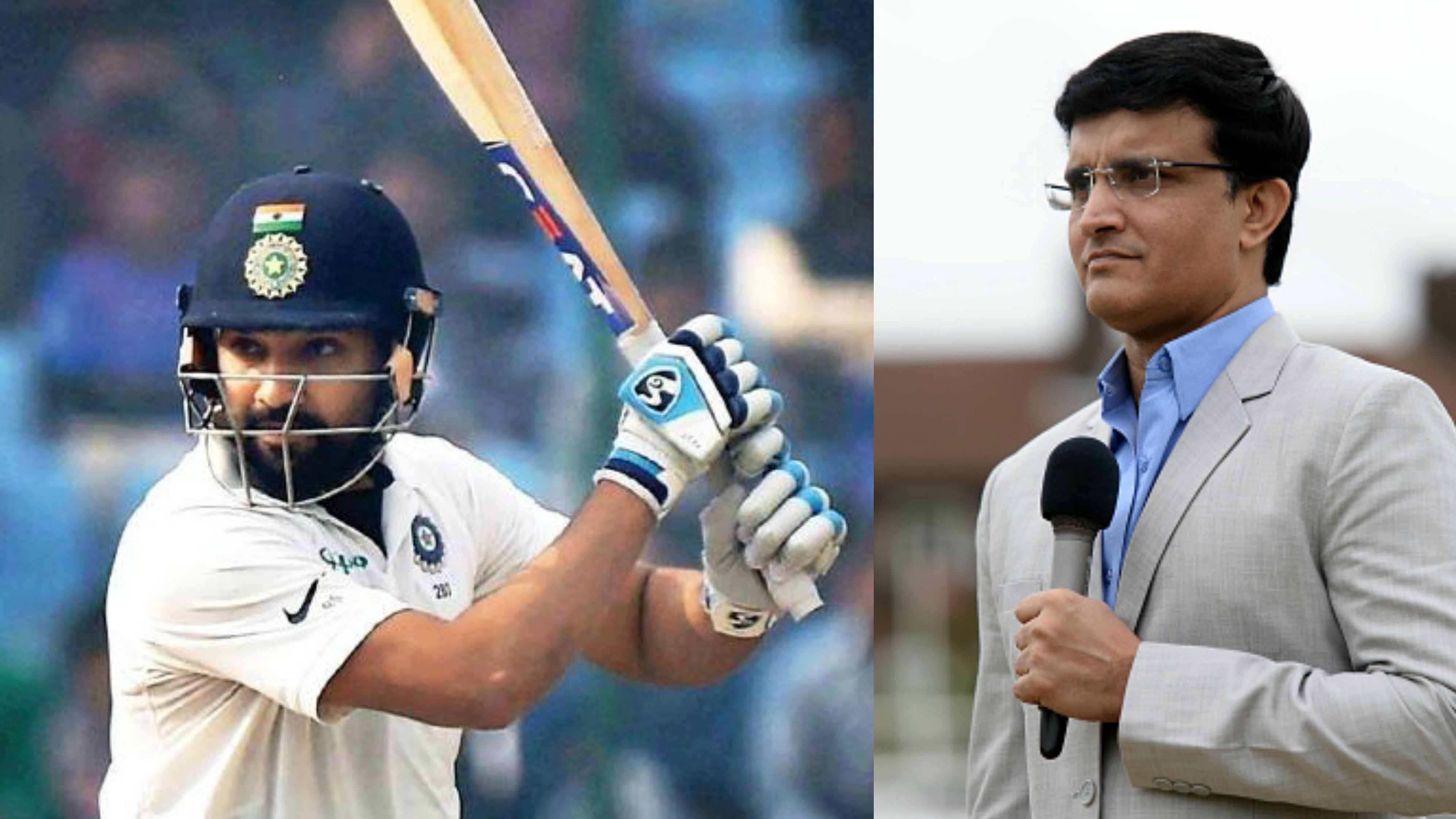 AUS v IND 2018-19: Sourav Ganguly bats for Rohit Sharma to bat at No. 6 in Tests