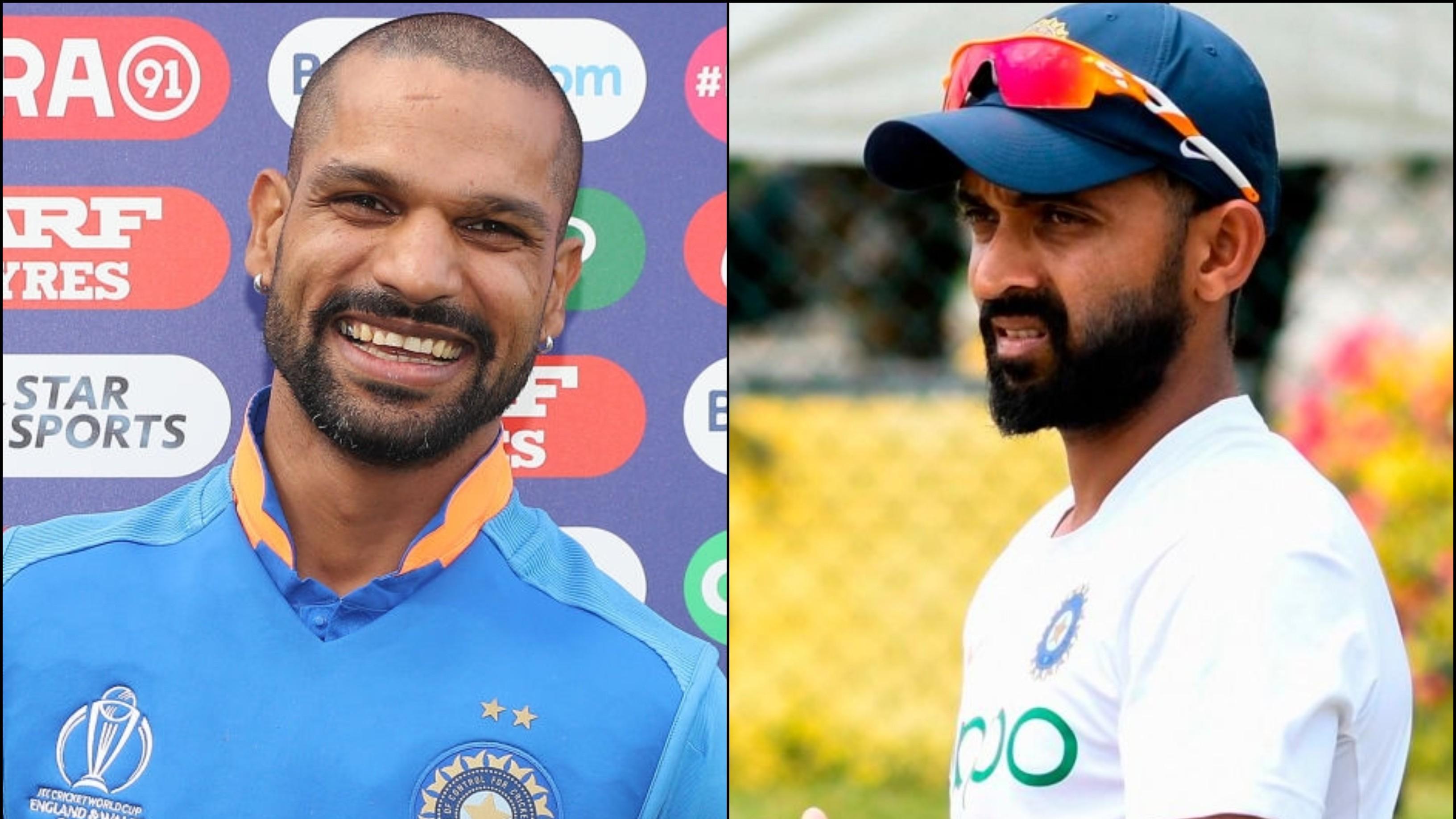 अजिंक्य रहाणे ने गुलाबी गेंद के साथ की फोटो पोस्ट, विराट कोहली और शिखर धवन ने किया मजाकिया कमेंट